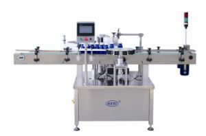 Dwtb90/160 Full Automatic Round Bottle Position / Orientation Labeling Machine pictures & photos