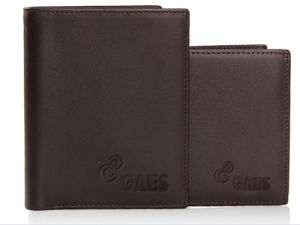 Men′s PU Genuine Leather Wallet pictures & photos