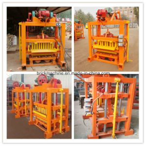 Qtj4-40 Small Concrete Block Making Machine pictures & photos