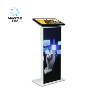 Free Standing 3G WiFi Touch Advertising Foldable LED Screen pictures & photos