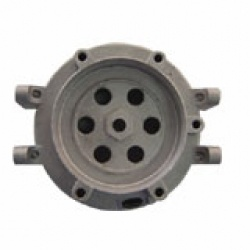 Aluminum Alloy Material Die Casting CNC Precision Machined Assembly Part for Motor Cover