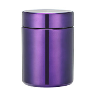 13oz/380ml Purple Chromed/Metallized Plastic HDPE Capsule Bottle pictures & photos