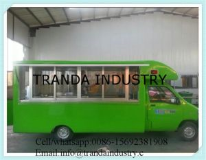Electric Mobile Food Trucks for Ice Cream/BBQ/Snack pictures & photos