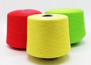 Coloured Polyester Yarn pictures & photos