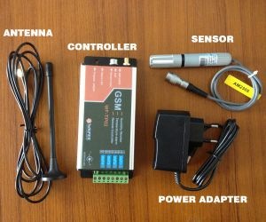 GSM Temperature & Humidity Recorder and Alarm Device pictures & photos