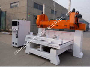 CNC Woodworking Carving Machine / 5 Axis Multi Spindle CNC Router pictures & photos