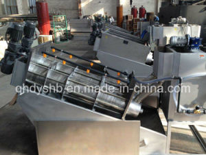 Saving Energy Screw Sludge Dewatering Machine Press pictures & photos