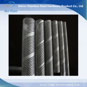 Perforated Metal Tube (Manufacture ISO9001: 2000) pictures & photos