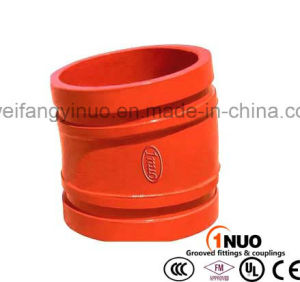 FM/UL/Ce Listed Ductile Iron 11.25 Degree Grooved Elbow pictures & photos
