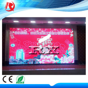 High Resolution SMD Full Color P4 Indoor LED Display Panel for Advertising pictures & photos