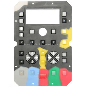 Key Control Overlay Silicone Rubber Button Keypad pictures & photos