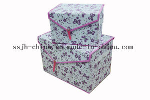 Non Woven Printing Storage Container (TN-SBX 088)