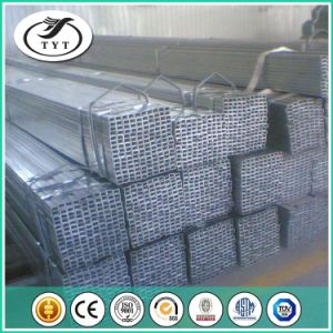 Different Sizes BS 1387 Galvanized Rectangular Welded Pipe pictures & photos