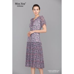 Miss You Ailinna 101655-1 Elegant Long Dress Wholesaler Chiffon Dress with Low Price pictures & photos