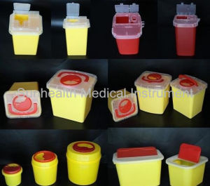 Medical Sharp Container/Sharp Bin pictures & photos