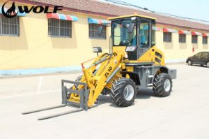 Wolf 1t Zl10 Small Loader, Front Loader with Yanmar Engine pictures & photos