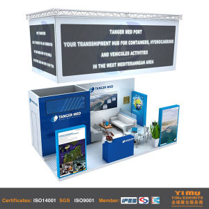 Design and Fabrication Custom Exhibits Stands pictures & photos