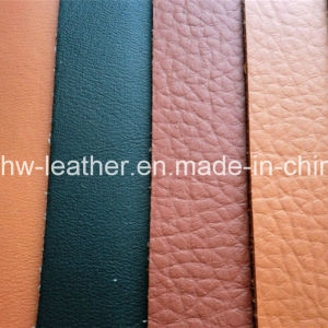 High Quality Car Seat PU Leather Hw-1456 pictures & photos