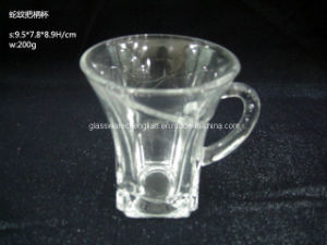Stunning Machine-Made Glass Mug (B-GT06) pictures & photos