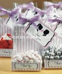 BOPP Square Bottom Bags/ Transperant BOPP Bottom Gusset Plastic Bag for Candy/Bread pictures & photos