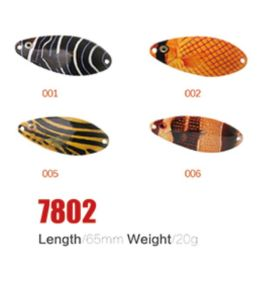 Wonderful 65mm 20g Fishing Spoon Lures pictures & photos