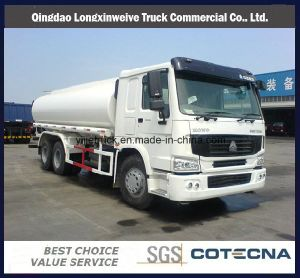 20000L Sinotruk HOWO 6X4 Tanker 290HP Water Tank Truck pictures & photos