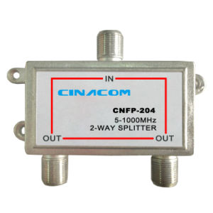 Indoor CATV 2-Way CATV Splitter 5-1000MHz