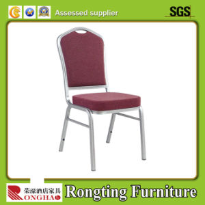 Hot Sale Stacking Durable Hotel Banquet Steel Aluminium Chair (RH-55006)