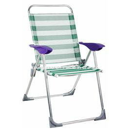 Foldable Reclining Beach Chair (XY-135B) pictures & photos