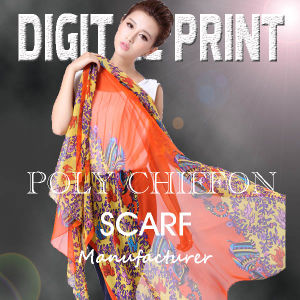 Custom Colorful Ladies′ Cotton Scarf (X1024) pictures & photos