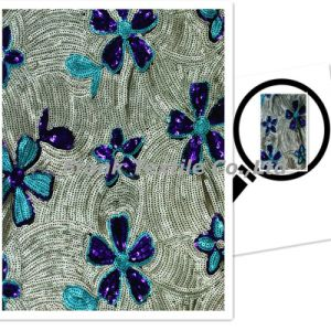 Exquisite Sequin Embroidery (FLK264)