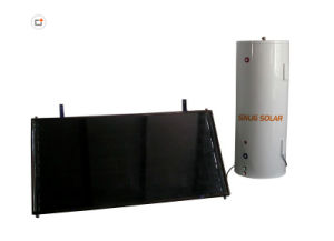 Black Chrome Coating Nice Flat Plate Solar Water Heater (1X2M, 1X1.5) M pictures & photos