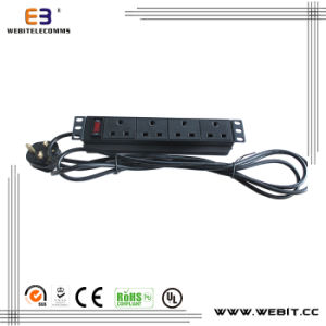 10 Inch Non-Standard 4-Way PDU for UK pictures & photos