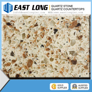 2016 New Double Color Quartz Stone, Artificial Quartz Stone Slabs pictures & photos