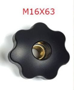 Star-Shaped Knob with Through Hole pictures & photos