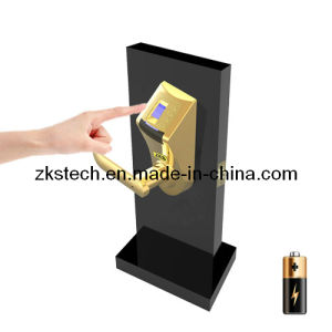 Biometric Fingerprint Pin Code Wood Lock Zks-L1g