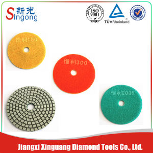 Stone Diamond Convex Resin Wet Polishing Pads pictures & photos