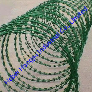PVC Coated Good Quality Razor Wire Cbt-65 From China
