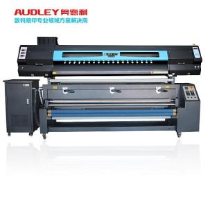 Cheap Dual Heads 1.8m Sublimation Printer for Textile pictures & photos