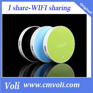 Ishare 3G Wireless Router with 4800 mAh Mobile Power Bank and Storage pictures & photos