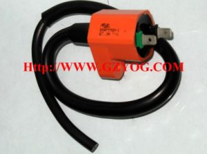 Yog Motorcycle Spare Parts Electric Ignition Coil for Scooter Gy6-125 At110 FT180 FT150 Ds125 Ds150 CS150 Kymco Argenta Akt 125 pictures & photos