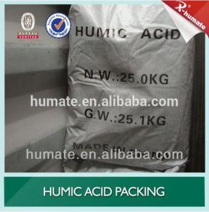 Humic Amino Acid with NPK Organic Fertilizer Granular 2-4mm pictures & photos