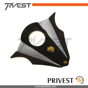 Wood Shell Cigar Cutters for Sale (K-7149)