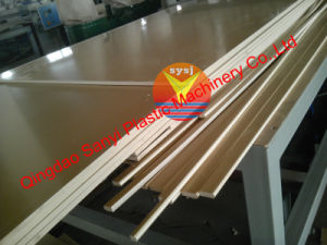 Recycled Wood Plastic Lumber Extruder Machine pictures & photos