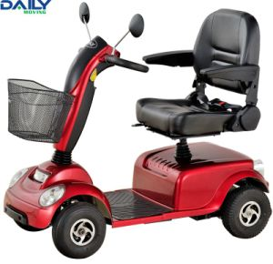 Four Wheels Middle Size Mobility Scooter for Indoor or Outdoor Using with Ce En12184: 2009 pictures & photos