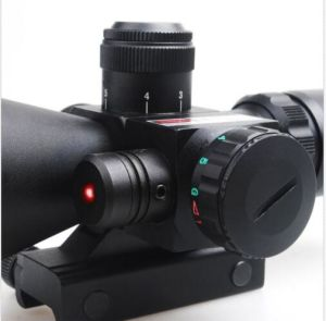 2.5-10X40 Tactical Rifle Scope Red&Green Mil-DOT Illuminated W/ Red Laser Mount pictures & photos