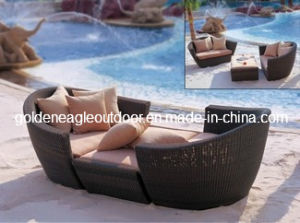 Hot Outdoor Rattan Sofa Furniture Made by Wicker