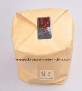 Brown Kraft Paper Bag Packaging Rice or Tea pictures & photos