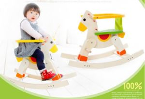 Hot Baby Blance Toys Wooden Rocking Horse
