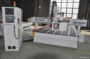 CNC Cutting Router Machine with Knife pictures & photos